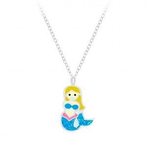 Wholesale Silver Mermaid Necklace