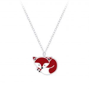 Wholesale Silver Fox Necklace