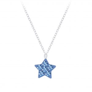 Wholesale Silver Star Necklace