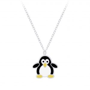 Wholesale Silver Penguin Necklace