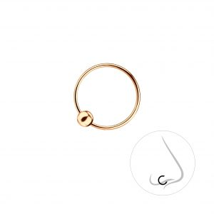Wholesale 12mm Silver Ball Closure Ring