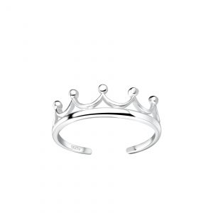 Wholesale Silver Crown Toe Ring