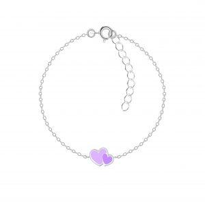 Wholesale Silver Heart Bracelet