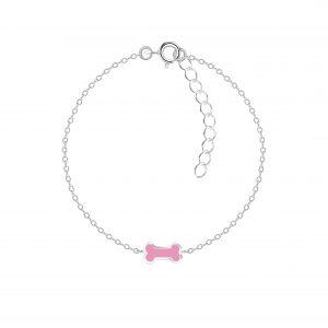 Wholesale Silver Bone Bracelet
