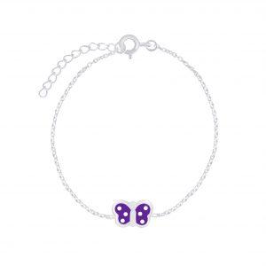 Wholesale Silver Butterfly Bracelet