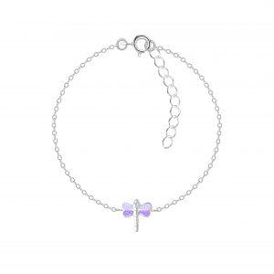 Wholesale Silver Dragonfly Bracelet
