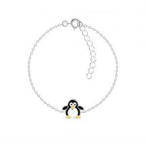 Wholesale Silver Penguin Bracelet