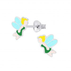 Wholesale Silver Fairy Stud Earrings