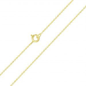 Wholesale 45cm Silver Cable Chain