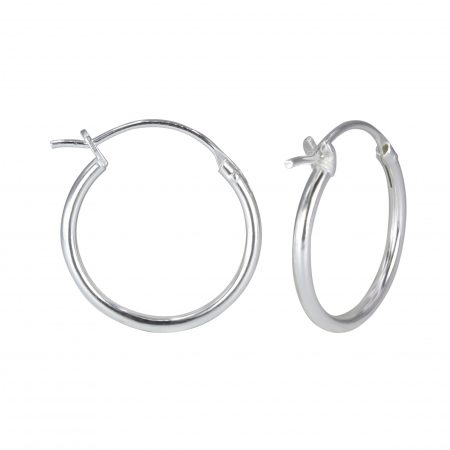 French Lock Hoop Earrings