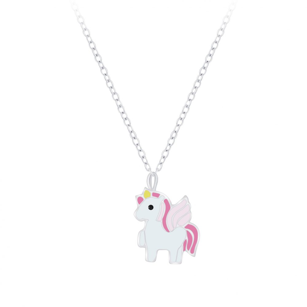 Wholesale Silver Unicorn Necklace