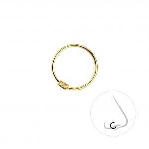 Wholesale 12mm Silver Nose Ring