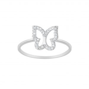 Wholesale Silver Butterfly Ring