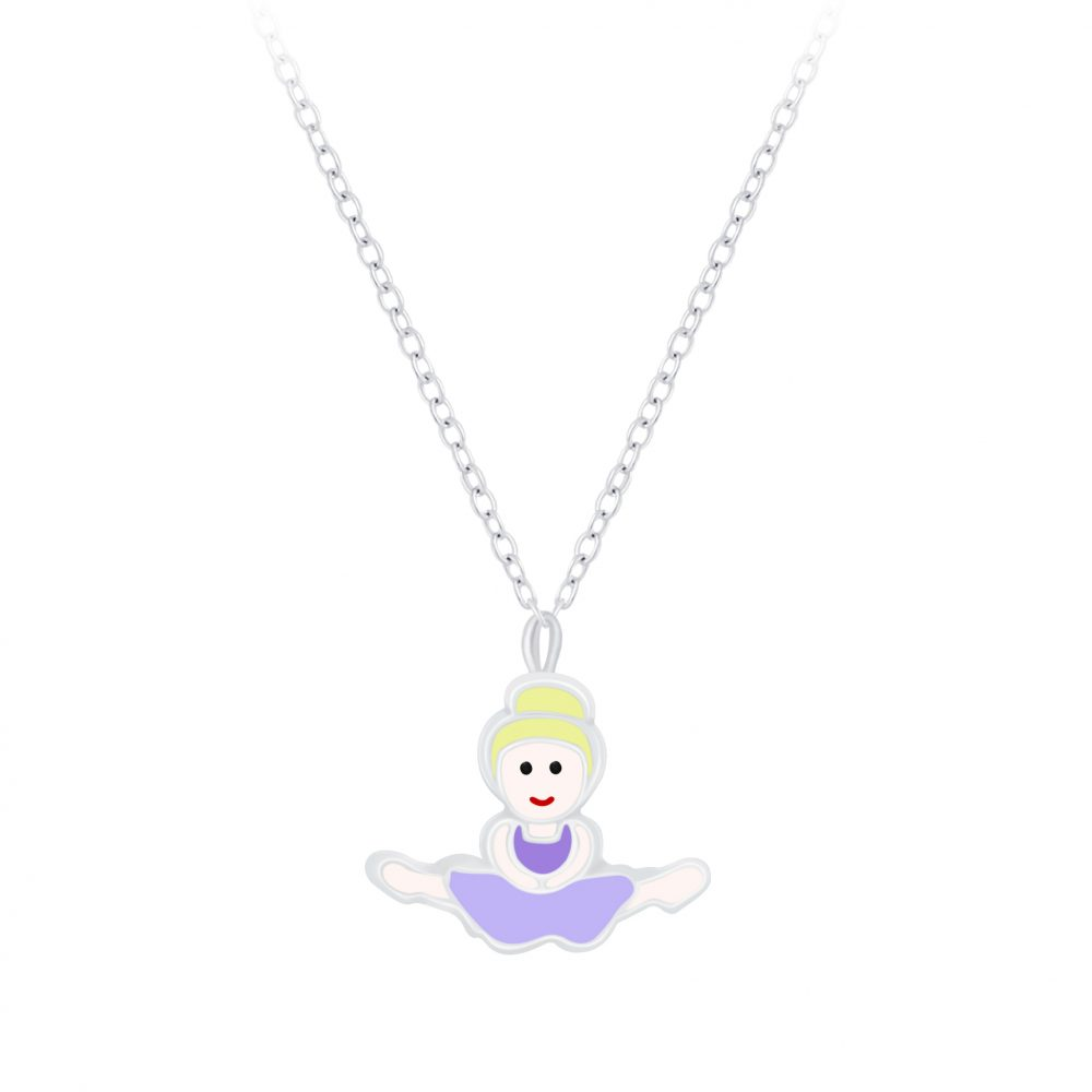 Wholesale Silver Ballerina Necklace