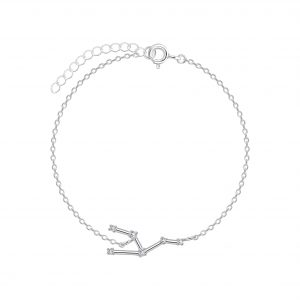 Wholesale Silver Taurus Constellation Bracelet