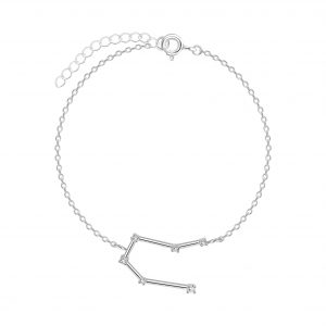 Wholesale Silver Gemini Constellation Bracelet