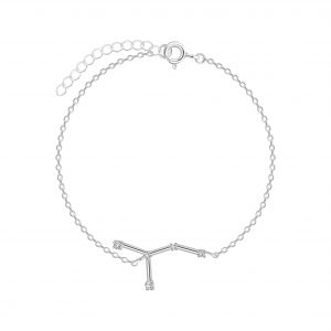 Wholesale Silver Cancer Constellation Bracelet