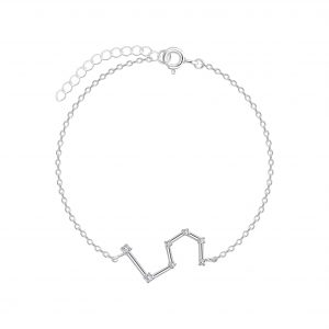 Wholesale Silver Leo Constellation Bracelet