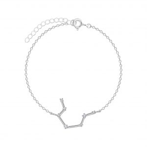 Wholesale Silver Aquarius Constellation Bracelet