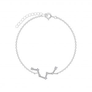 Wholesale Silver Pisces Constellation Bracelet