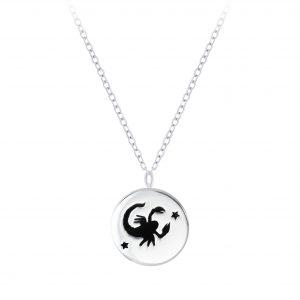 Wholesale Silver Scorpio Zodiac Sign Necklace