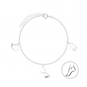 Wholesale Silver Sunny Day Anklet