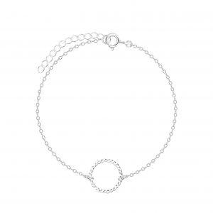 Wholesale Silver Patterned Bracelet