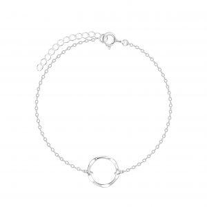 Wholesale Silver Circle Bracelet
