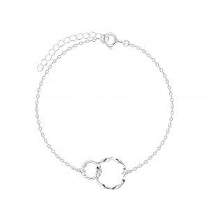 Wholesale Silver Twisted Bracelet