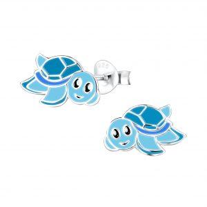 Wholesale Silver Turtle Stud Earrings