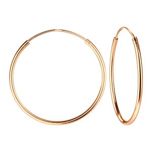 Wholesale 25mm Silver Hoop Earrings