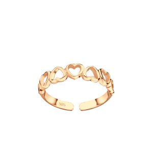 Wholesale Silver Heart Toe Ring