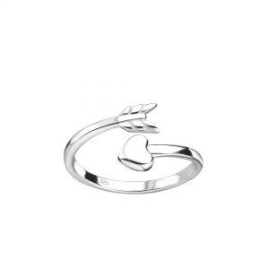 Wholesale Silver Arrow Toe Ring