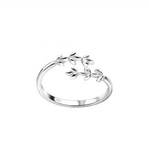 Wholesale Silver Branch Toe Ring