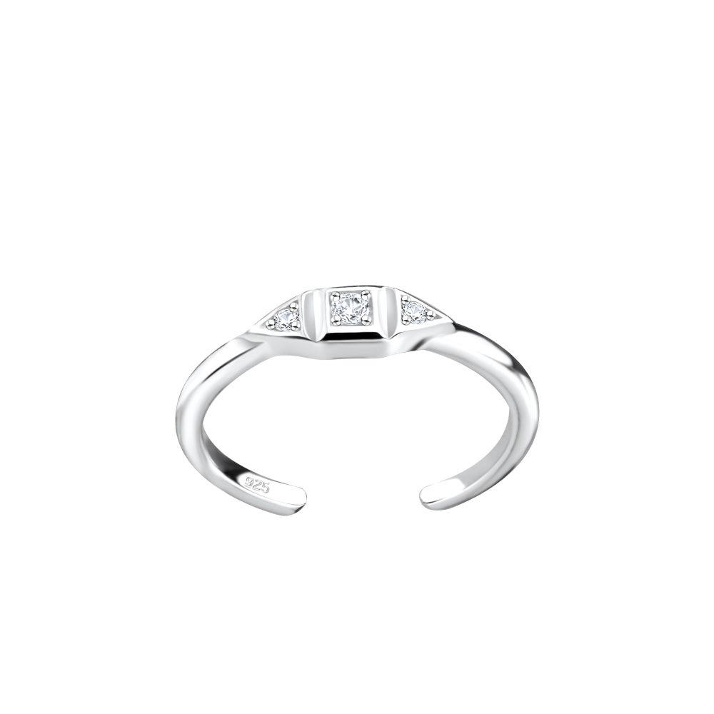Wholesale Silver Geometric Toe Ring