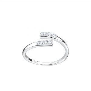 Wholesale Silver Opened Toe Ring
