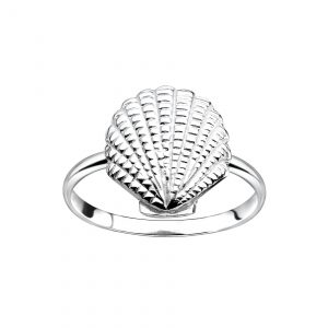 Wholesale Silver Shell Ring