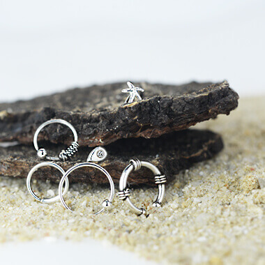 Silver Nose Jewelry