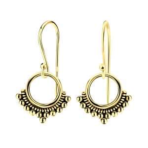 Wholesale Silver Ethnic Earrings