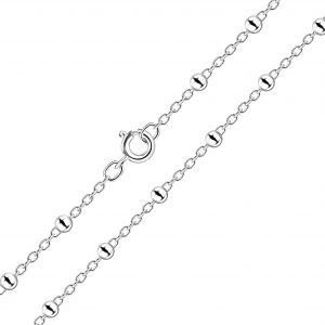 Wholesale 41cm Silver Satellite Necklace