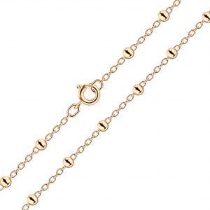Wholesale 45cm Silver Satellite Necklace