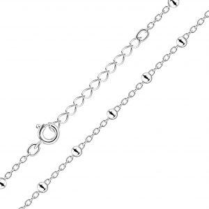 Wholesale 45cm Silver Extension Satellite Necklace
