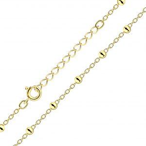 Wholesale 35cm Silver Extension Satellite Necklace