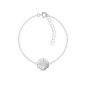Wholesale Silver Shell Bracelet