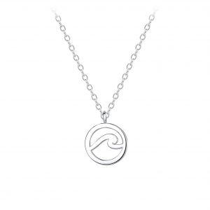 Wholesale Silver Wave Necklace