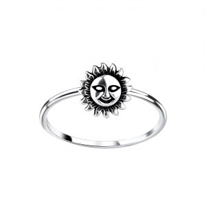 Wholesale Silver Sun Ring
