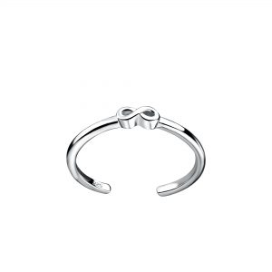 Wholesale Silver Infinity Toe Ring
