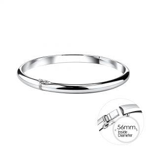 Wholesale 5mm Silver Bangle