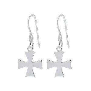 Wholesale Silver Cross Earrings