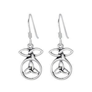 Wholesale Silver Celtic Earrings